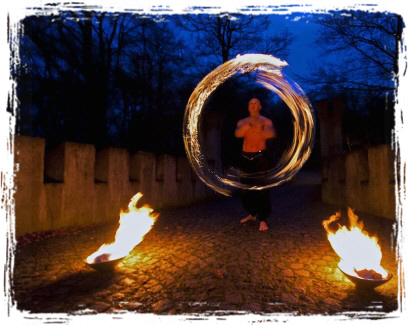 Feuer-u. Fakirshow Thüringen - www.lucius-feuer.de